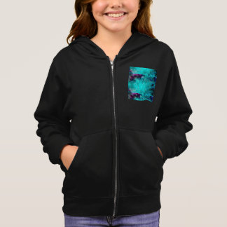 multicolored mystical background hoodie