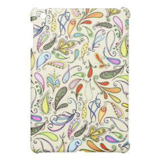 Multicolored Paisley Case iPad Mini Cover