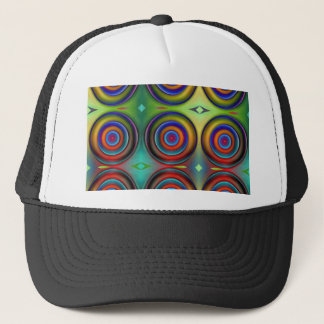 Multicolored Pattern Circles 1 created by Tutti Trucker Hat