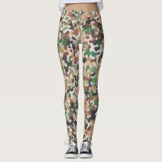 Multicolored Pattern Leggings