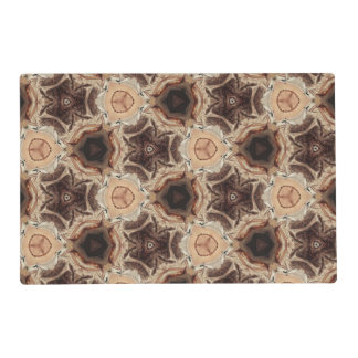 multicolored pattern placemat