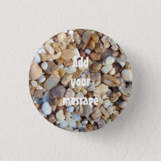 Multicolored pebbles 0020 pinback button