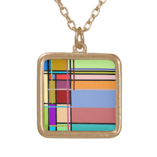 Multicolored pendant that matches all dresses