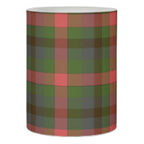 Multicolored Plaid Flameless Candle