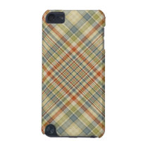Multicolored plaid pattern iPod touch 5G case