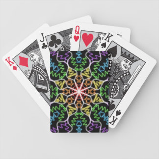 Multicolored Playing Cards BLACK & WHITE