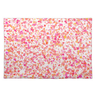 """""""Multicolored points"""" table set reddish 50.8 x Cloth Placemat"""