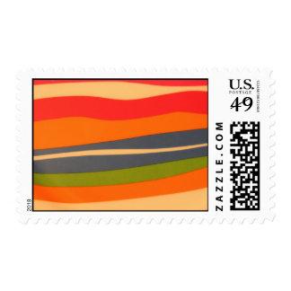Multicolored Postage