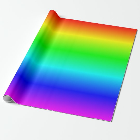 rainbow wrapping paper Introduction: gift-wrapping with newspaper  open up and trim that paper  colors of the rainbow contest.