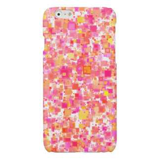 """""""Multicolored rectangles"""" iPhone 6/6s covering Glossy iPhone 6 Case"""