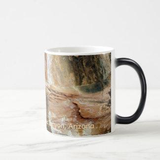 Multicolored Rock Face Magic Mug