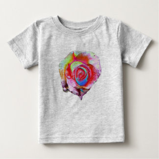 MultiColored Rose Baby T-Shirt