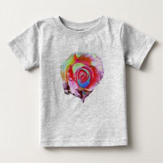 MultiColored Rose Tee Shirt
