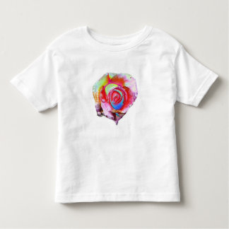 MultiColored Rose Toddler T-shirt
