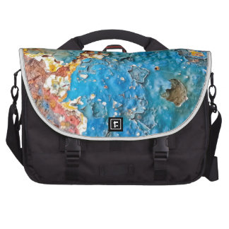 Multicolored Rusty Texture Bags For Laptop