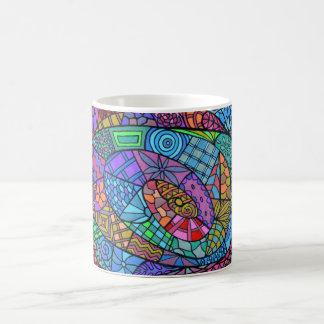 Multicolored sample eddy coffee mug