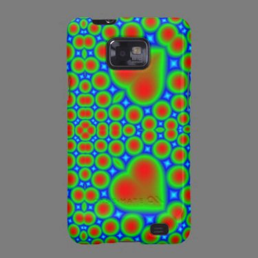 Multicolored Samsung Galaxy Case Samsung Galaxy SII Case