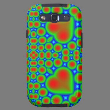 Multicolored Samsung Galaxy Case Galaxy SIII Covers