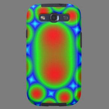 Multicolored Samsung Galaxy Case Galaxy S3 Case