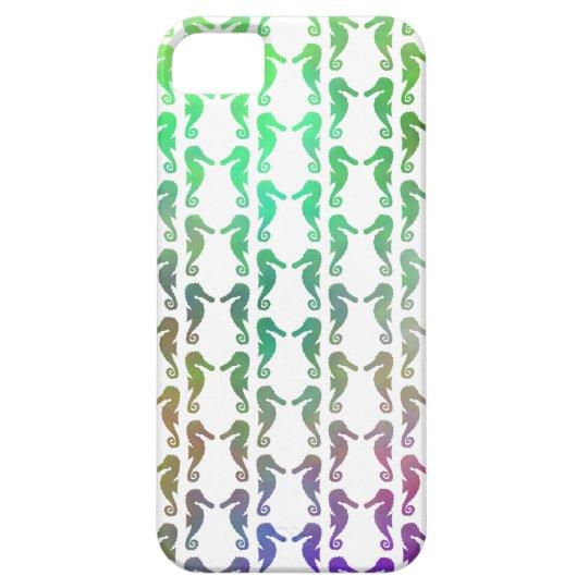Multicolored Seahorse Pattern iPhone SE/5/5s Case