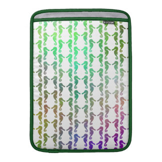Multicolored Seahorse Pattern Sleeve For MacBook Air