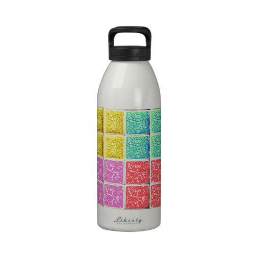 Multicolored Square Artistic Pattern