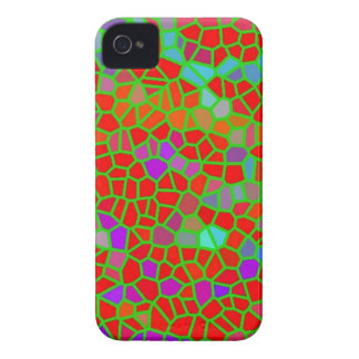 Multicolored stained glass Case-Mate iPhone 4 case