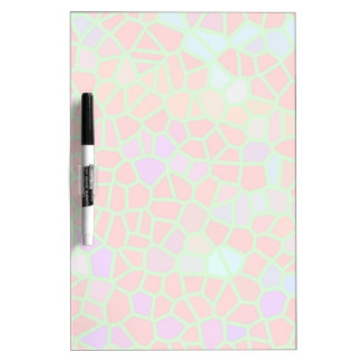 Multicolored stained glass Dry-Erase board