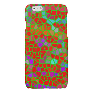 Multicolored stained glass glossy iPhone 6 case
