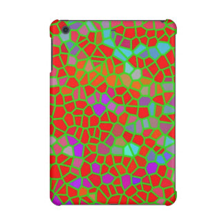 Multicolored stained glass iPad mini cover
