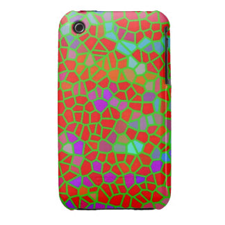Multicolored stained glass iPhone 3 Case-Mate cases