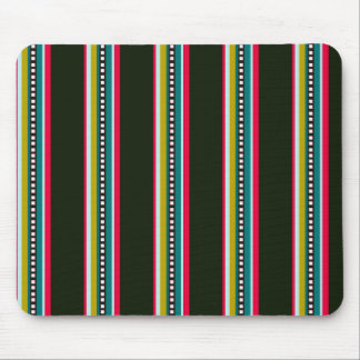 Multicolored Stripe Pattern Mouse Pad