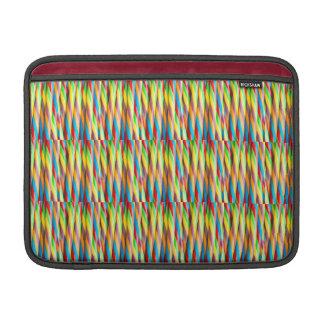 Multicolored Stripes Pattern MacBook Air Sleeve