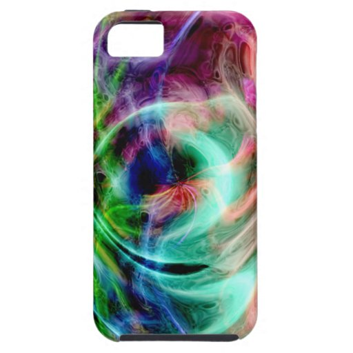 Multicolored Swirls iPhone 5 Covers