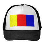 Multicolored Terrier Mesh Hats