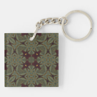 Multicolored ugly Abstract Pattern Keychain