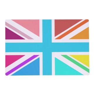 Multicolored Union Flag/Jack Design Placemat