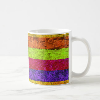 Multicolored Vintage Coffee Mug