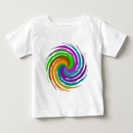 Multicolored wave baby T-Shirt
