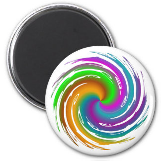 Multicolored wave magnet