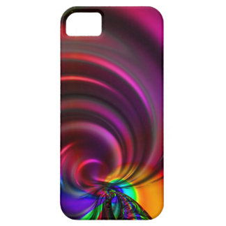 Multicolored whirl created by Tutti iPhone SE/5/5s Case