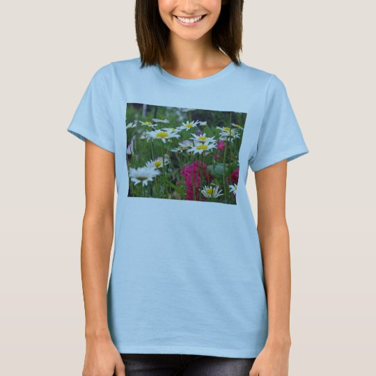 Multicolored Wildflowers in a garden T-Shirt