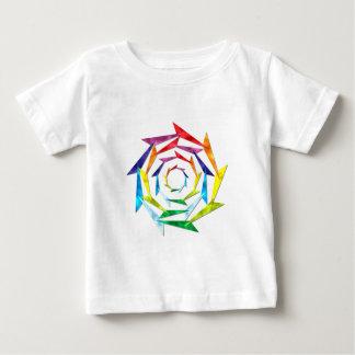 multicolored windwheel colorful whizz wheel shirt