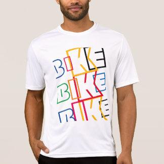 multicolored word BIKE T-Shirt