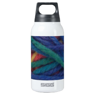 Multicolored Yarn Insulated Water Bottle