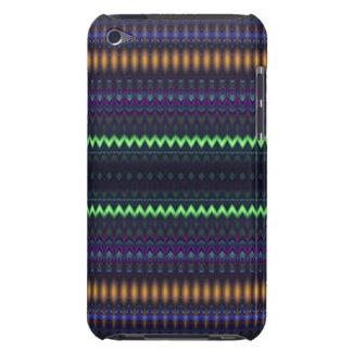 Multicolored Zigzag and Striped iPod Case-Mate Case