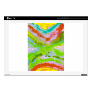 """Multicolors collection by Babylandia Skin For 17"""" Laptop"""