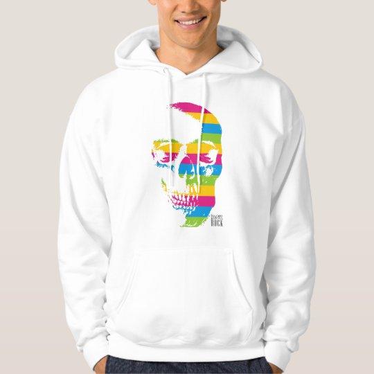 Multicolors skulls hoodie