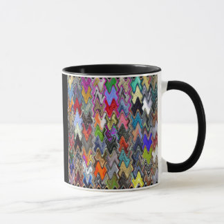 Multicolour Abstract Pattern Coffee Mug