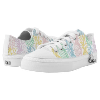 Multicolour coloured pineapples Low-Top sneakers